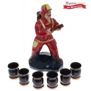 Набор для крепких напитков Пожарник