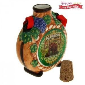 Штофик для вина Лучший охотник