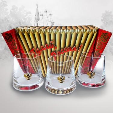 Подарочный набор для виски За Россию