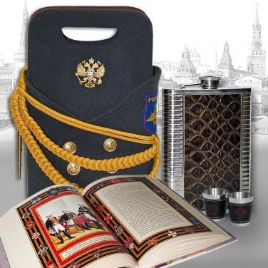 Подарочный набор для коньяка Армейский