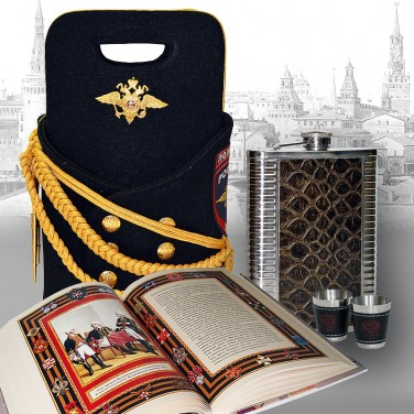 Подарочный набор для коньяка МВД