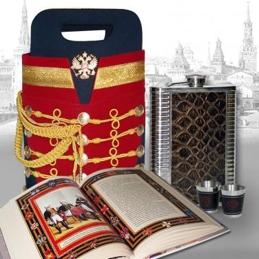 Подарочный набор для коньяка Гусарский