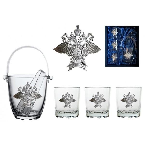 """Подарочный виски сет """"Полиция"""" от 3 200 руб"""