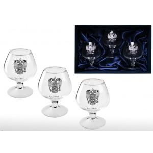 Набор бокалов для коньяка Великая Русь