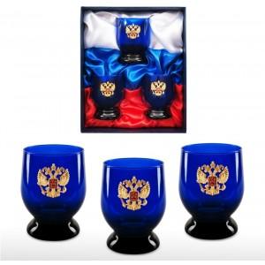 Набор бокалов для виски Россия