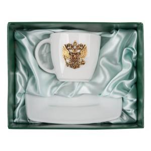 Чайная пара Державная (фарфор)
