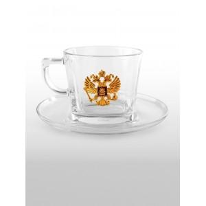 Подарочная чайная пара Золотой орёл