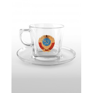Подарочная чайная пара СССР