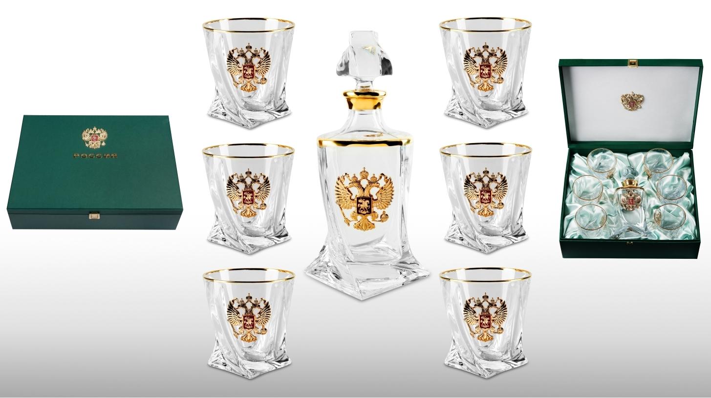 "Набор бокалов для виски ""Золотой орёл"" от 20 000 руб"