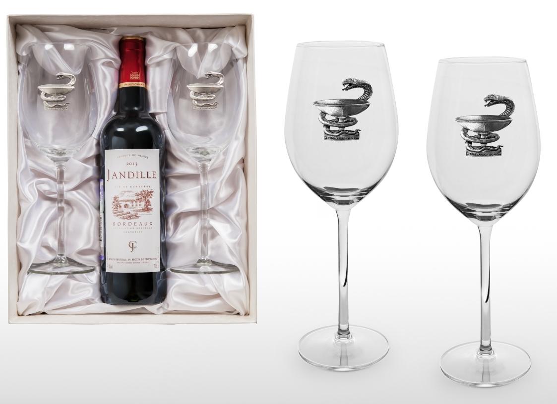 """Подарочный набор для вина """"Лучшему врачу"""" от 2 500 руб"""